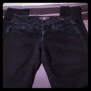 Black jeans by Lucky Jeans